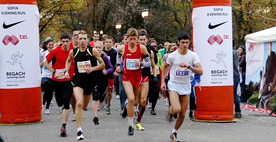 Регистрацията за Sofia Evening Run 2013 е отворена